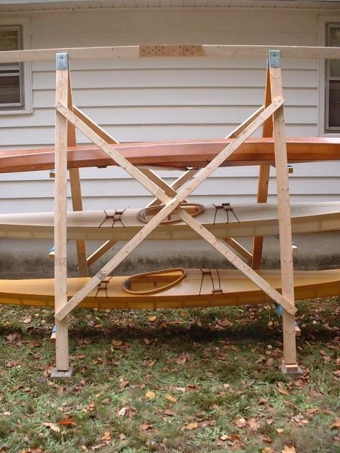 kayak storage idea