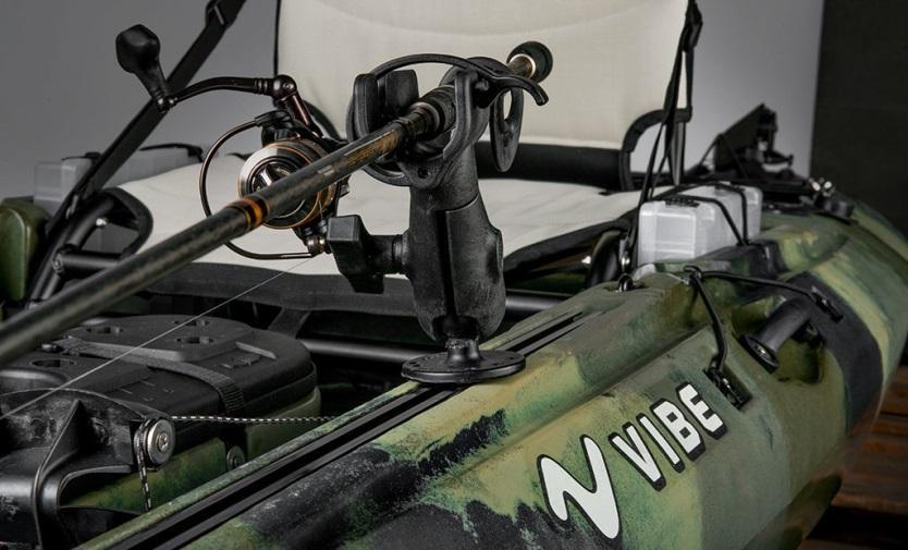 vibe sea ghost 110 rod holder