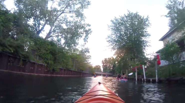 Best Places to kayak in michigan